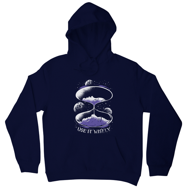 Space hourglass quote hoodie - Make It Print