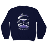 Space hourglass quote sweatshirt - Make It Print