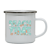 Beach time camping mug - Make It Print