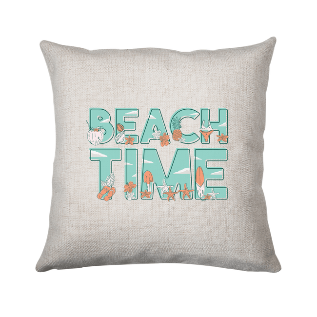 Beach time cushion - Make It Print