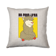 No Problama cushion - Make It Print