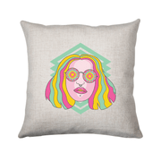 Kaleidoscope girl cushion - Make It Print