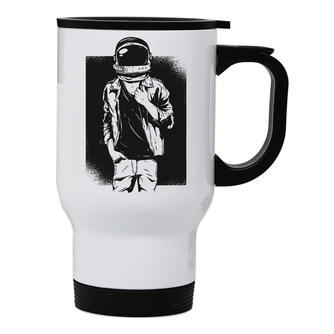 Rock astronaut stainless steel travel mug - Make It Print
