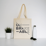 Unbreakable tote bag - Make It Print