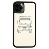 Penelope truck line print iPhone case - Make It Print - Penelope the Truck