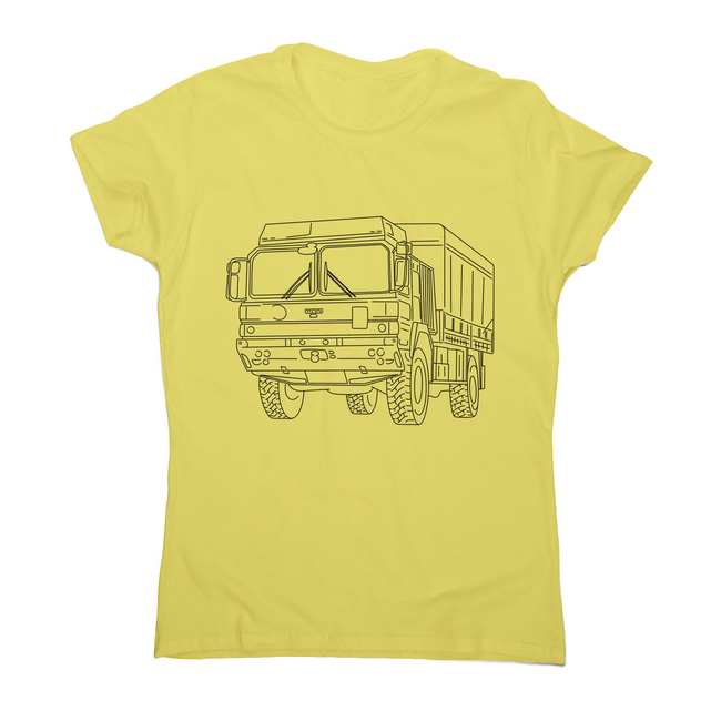MAN truck women's t-shirt - Make It Print - Penelope the Truck