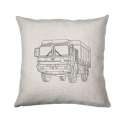 MAN truck cushion - Make It Print - Penelope the Truck