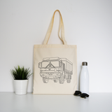 MAN truck tote bag - Make It Print - Penelope the Truck