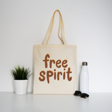 Free spirit tote bag - Make It Print - Monica Muhterem