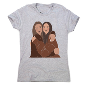 Girlfriends one women's t-shirt - Make It Print - Monica Muhterem