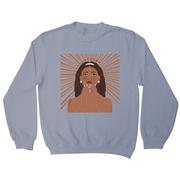 Girl is Goddess sweatshirt - Make It Print - Monica Muhterem