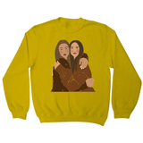 Girlfriends one sweatshirt - Make It Print - Monica Muhterem