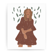Girl two print - Make It Print - Monica Muhterem