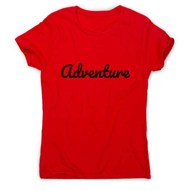 Adventure women's t-shirt - Make It Print - Penelope the Truck