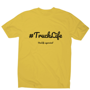 Truck Life men's t-shirt - Make It Print - Penelope the Truck