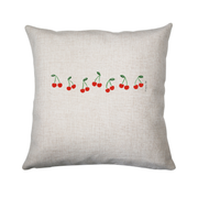 Cherries cushion