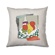 Fruits sur la table cushion - Make It Print - Eugenia