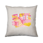 Casa rosa cushion - Make It Print - Eugenia