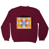 Pattern Five sweatshirt - Make It Print - Eugenia