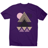 Abstract Geometric men's t-shirt - Make It Print - Maria Lourdes Calica
