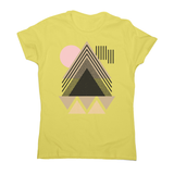Abstract Geometric women's t-shirt - Make It Print - Maria Lourdes Calica