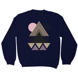 Abstract Geometric sweatshirt - Make It Print - Maria Lourdes Calica