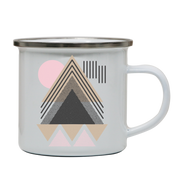 Abstract Geometric camping mug - Make It Print - Maria Lourdes Calica