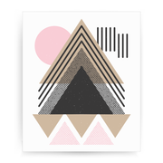 Abstract Geometric print - Make It Print - Maria Lourdes Calica