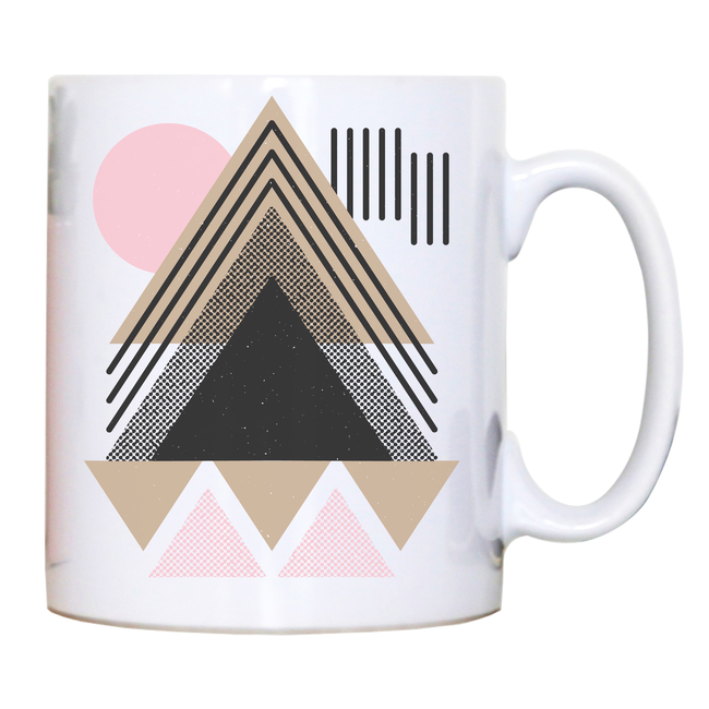 Abstract Geometric mug - Make It Print - Maria Lourdes Calica