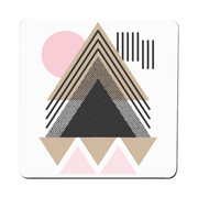 Abstract Geometric coaster - Make It Print - Maria Lourdes Calica
