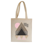 Abstract Geometric tote bag - Make It Print - Maria Lourdes Calica