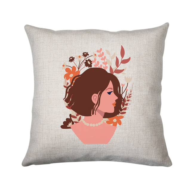 Blooming girl cushion 40x40cm Cover Only