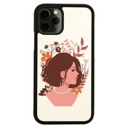 Blooming girl iPhone case iPhone 12 Pro Max
