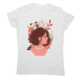Blooming girl women's t-shirt White