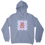Do not worry about tomorrow hoodie Grey