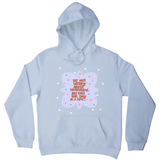 Do not worry about tomorrow hoodie White