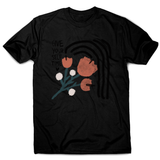 Give yourself time men's t-shirt Black