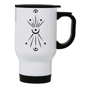 Pure Reflection stainless steel travel mug White