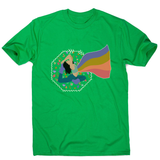 Rainbows men's t-shirt Green