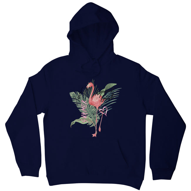 Tropical girl flamingo hoodie