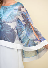 Load image into Gallery viewer, Sheer Floral Overlay Top