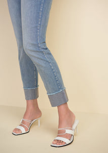 Sparkle Cuff Jeans