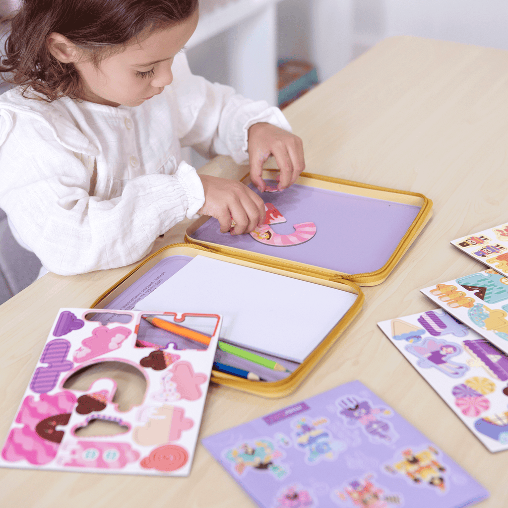 Puzzle and Draw Magnetic Kit