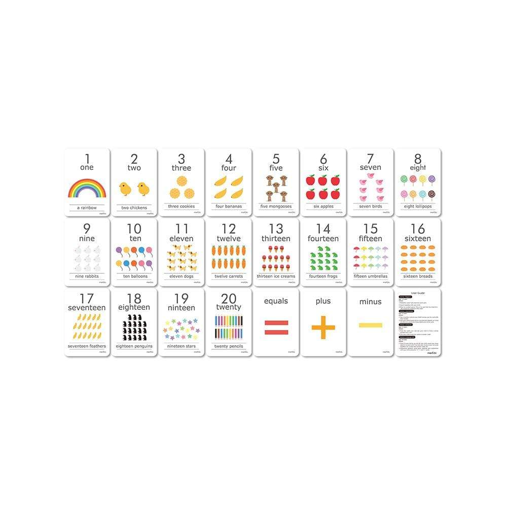 Cognitive Educational Counting Cards