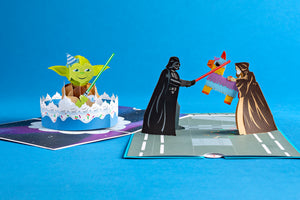 Cake Greeting Cards 3D Cards Happy Birthday Cards Star Wars Birthday Card Kids Birthday Cards Lovepop Star Wars Yoda Birthday Pop Up Card Star Wars Pop Up Birthday Card Celebration Card