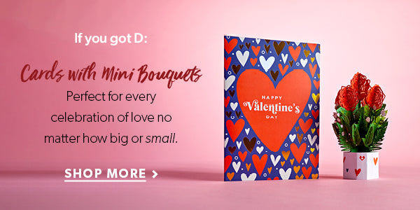 lovepop cards with mini bouquets