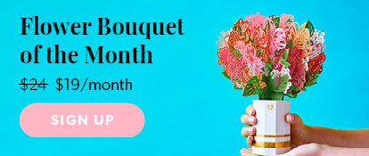 Flower Bouquet of the Month Subscription