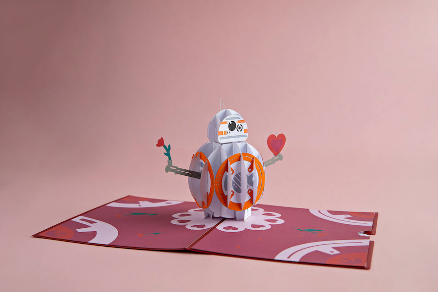BB-8 Mine Lovepop pop up card