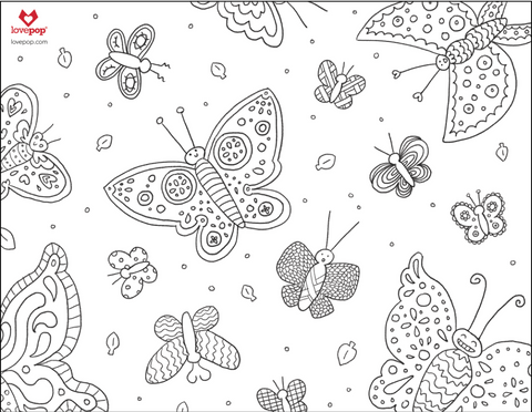 - Lovepop Activity Sheets: Coloring Pages
