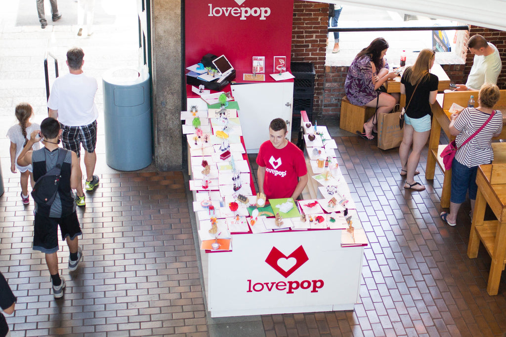 Lovepop Faneuil Hall Kiosk